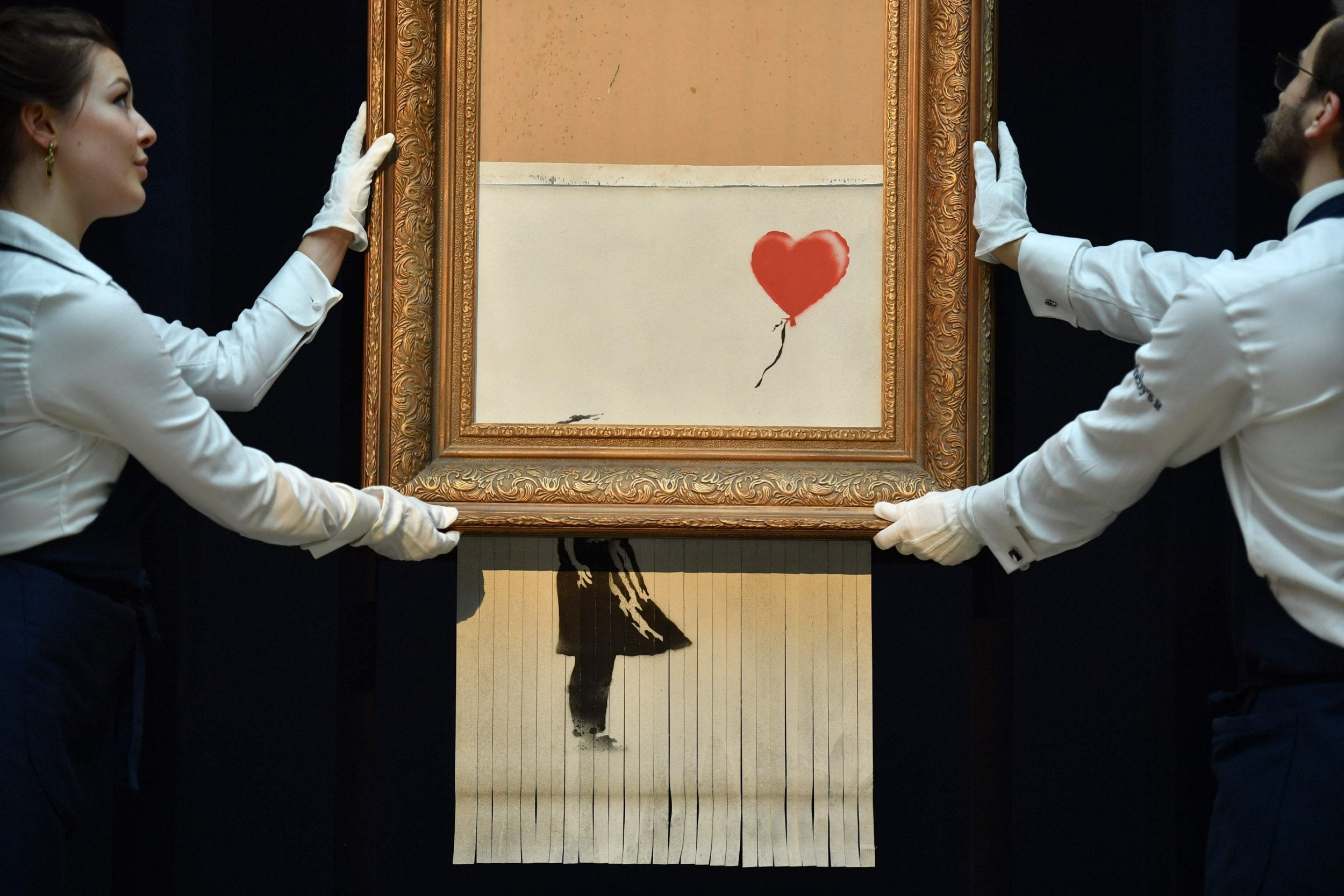 L'opera di Banksy in asta da Sotheby's