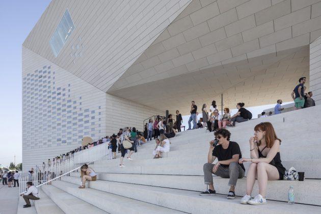Veduta dal nuovo MÉCA di Bordeaux