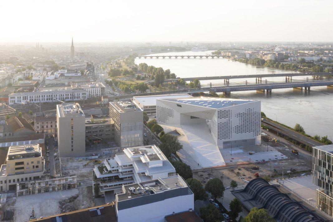 Veduta dal nuovo MECA di Bordeaux