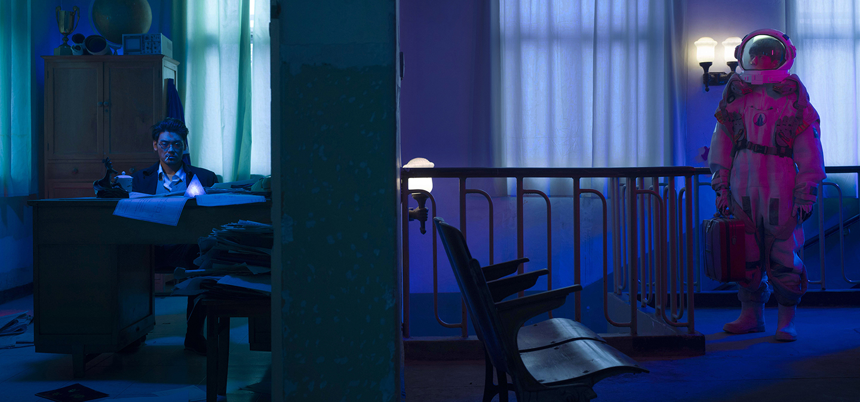 Un'opera di Cao Fei in mostra al Centre Pompidou