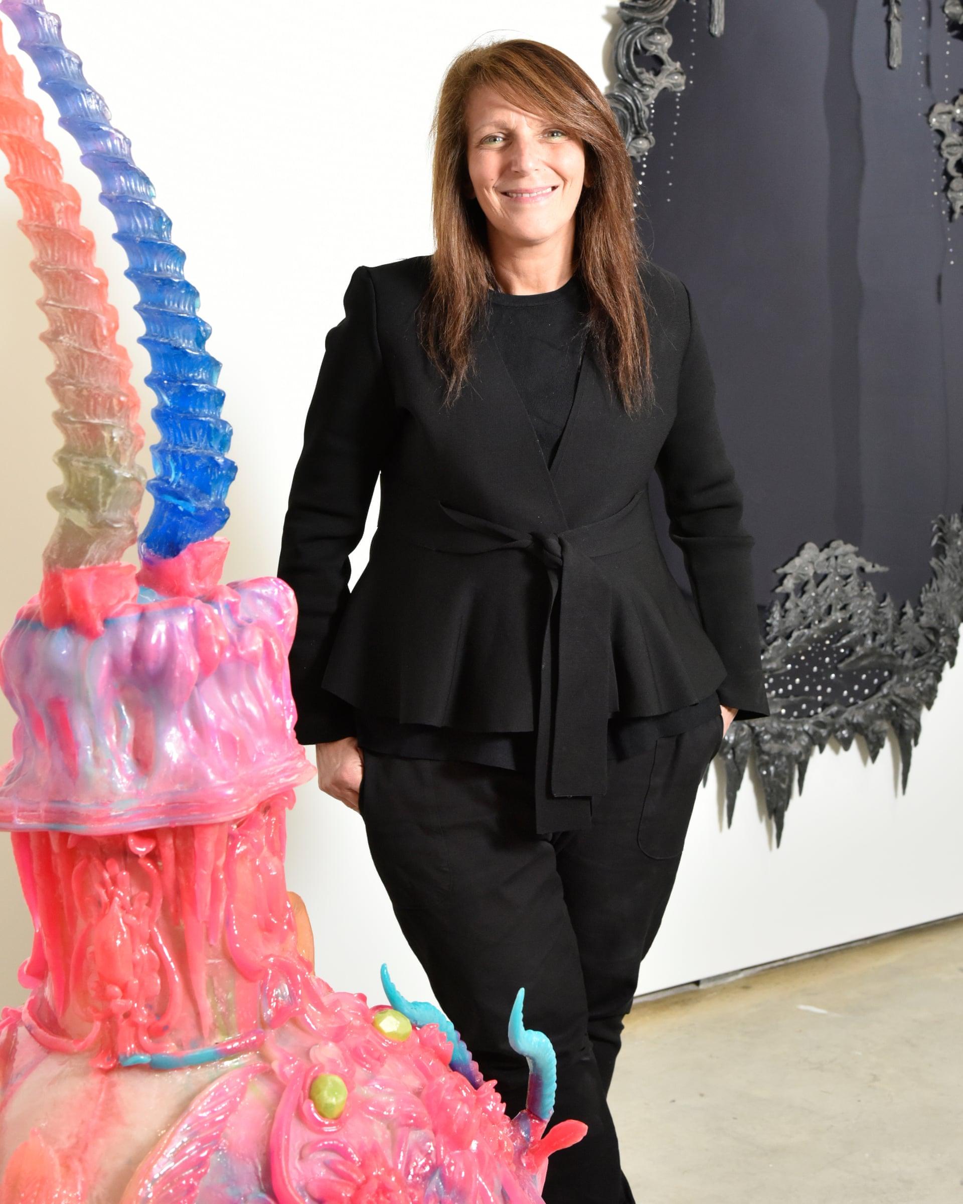 Lisa Fehily, la fondatrice della Finkelstein Gallery di Melbourne