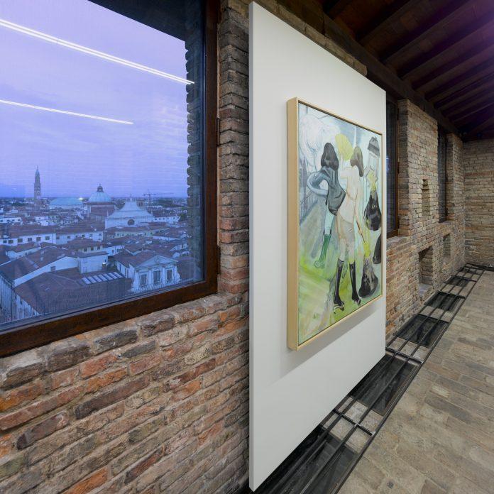 Veduta della mostra alla Fondazione Coppola di Vicenza