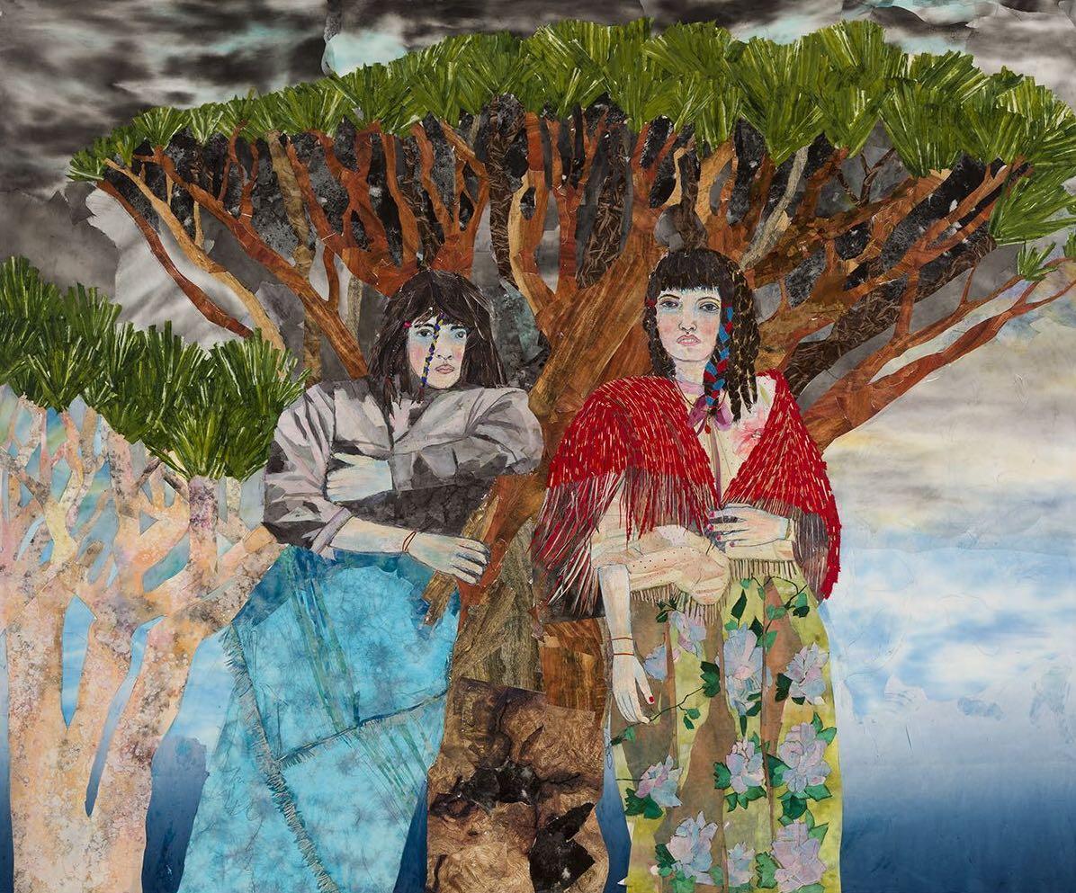 Un'opera di María Berrío