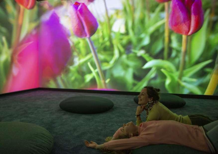 Pipilotti Rist, vista della mostra. Louisiana Museum of Modern Art