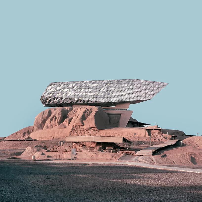 Architettura contemporanea occidentale nell'antico Iran