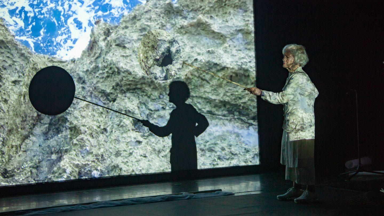 Un'opera alla Biennale d'Arte di Venezia