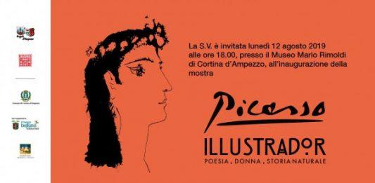 Picasso Illustrador. Poesia donna storia naturale