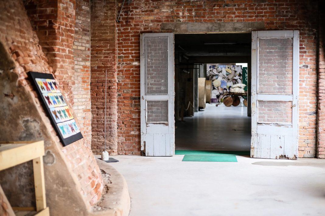 Gli spazi di Opendream, prima stabilimento per la lavorazione della ceramica