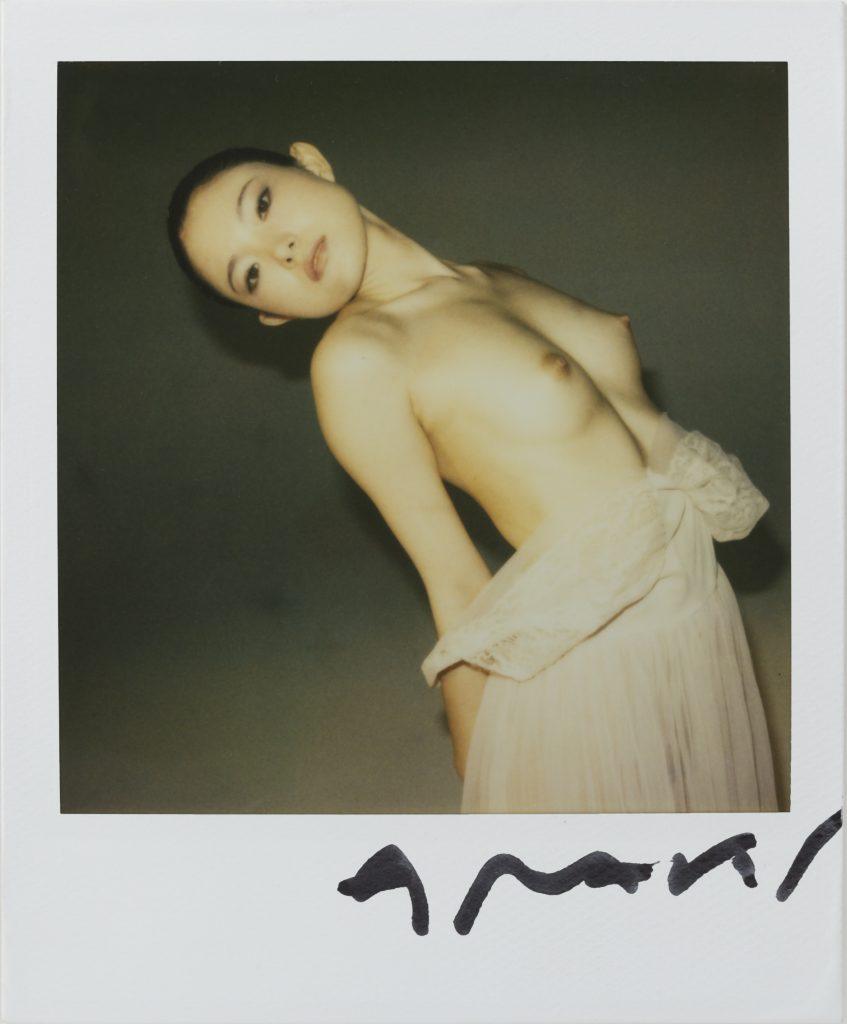 Nobuyoshi Araki Untitled Polaroid 7.5 x 7.5 cm Courtesy Collezione Rolla, Svizzera