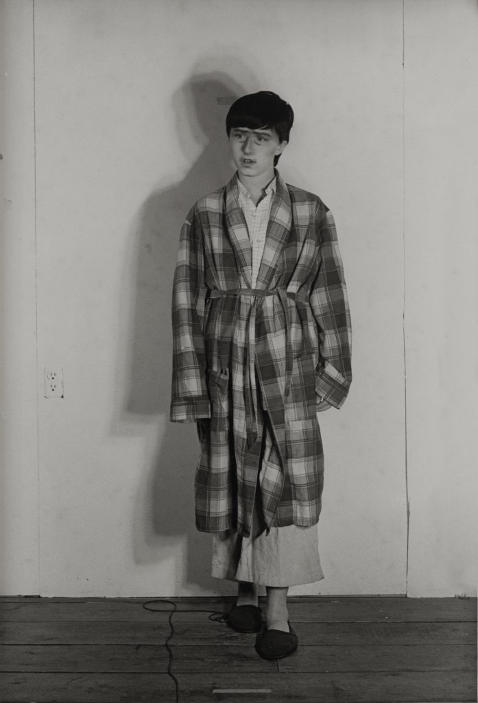 """Cindy Sherman Untitled # 386 (The Son) from the serie """"Murder Mistery"""", 1976-2000 18.8 x 12.8 cm Courtesy Collezione Dionisio Gavagnin, Treviso"""
