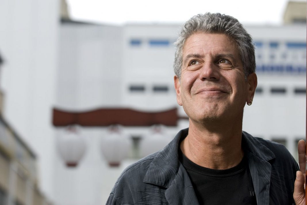 Lo chef pluripremiato Anthony Bourdain. Photo: Paulo Fridman / Getty Images