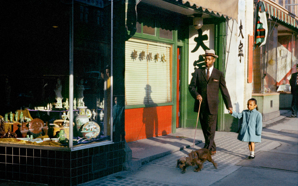 Black man pender, 1958. (Fred Herzog, Equinox gallery)