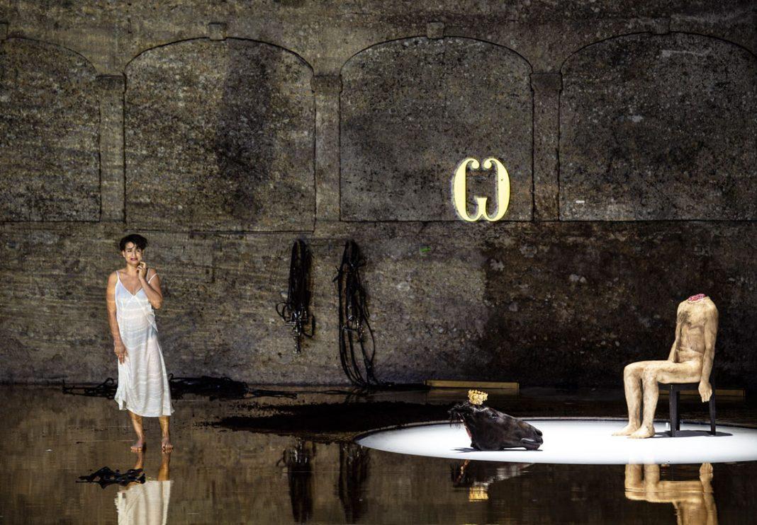La scenografia della Salome di Romeo Castellucci