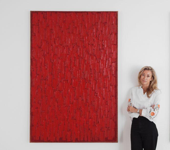 Cristina Revert alla galleria Cradi Gallery di Milano