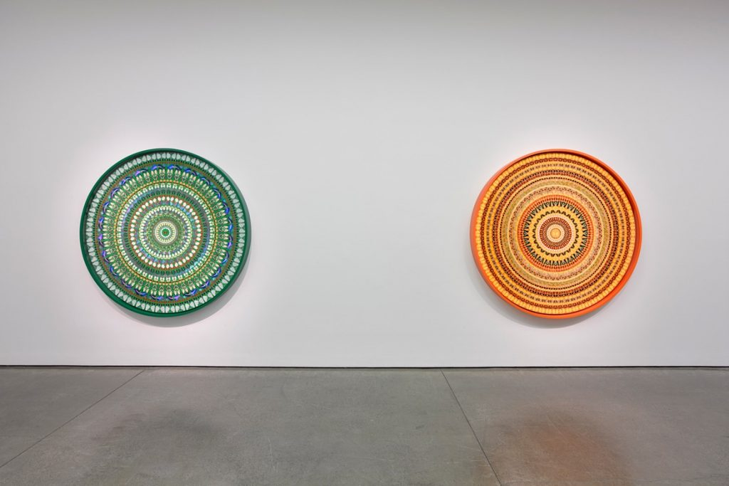 """Damien Hirst, """"Mandalas"""" Exhibition. All rights reserved, DACS 2019. Photo © White Cube (Ollie Hammick)"""