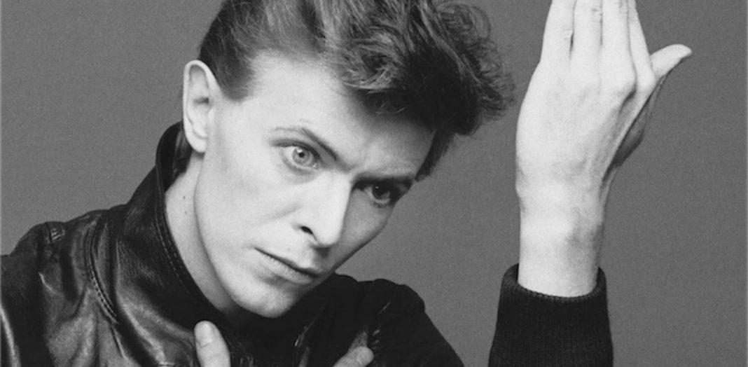 L'iconica immagine di David Bowie per il suo album