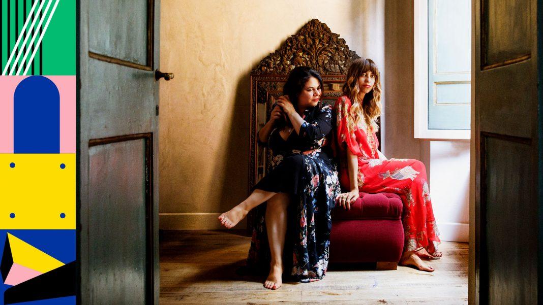 Michela Murgia e Chiara Tagliaferri, autrici di Morgana (Foto © Musacchio, Ianniello & Pasqualini)