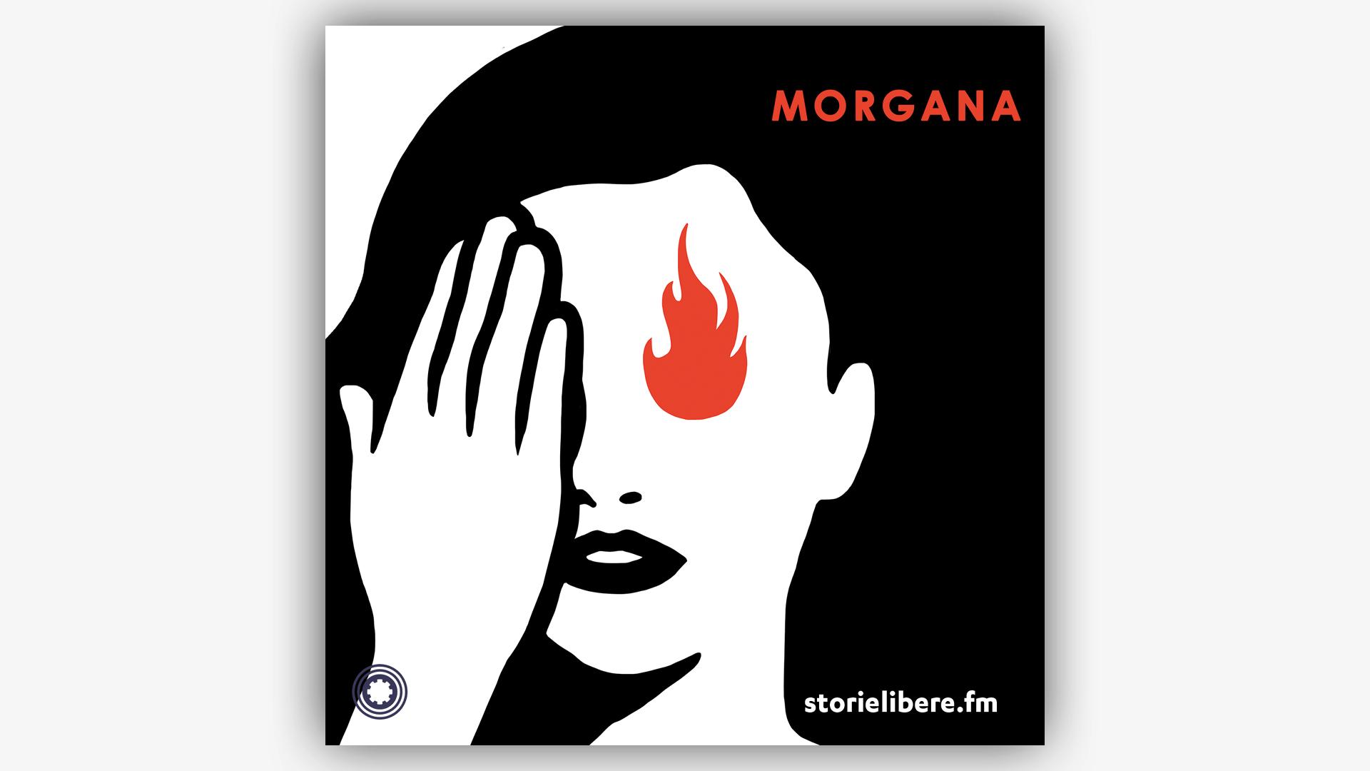 L'immagine iconica di Morgana, realizzata da MP5