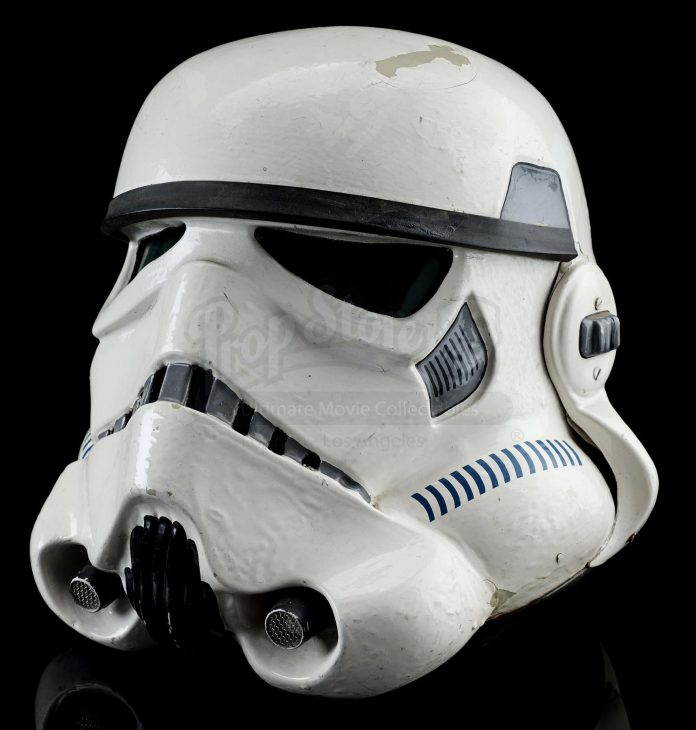 L'elmetto da Stormtrooper in