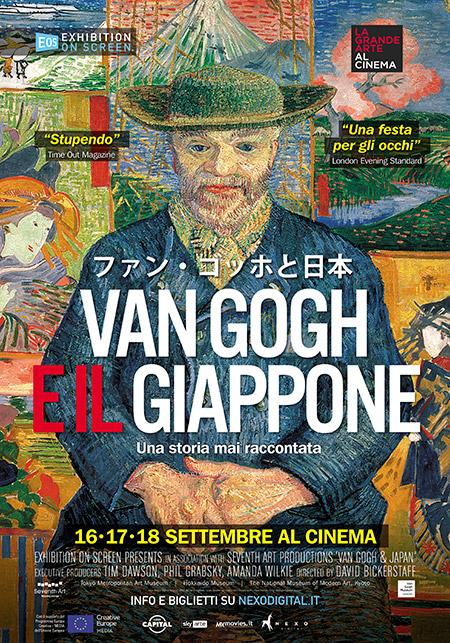 La locandina del film Van Gogh e il Giappone