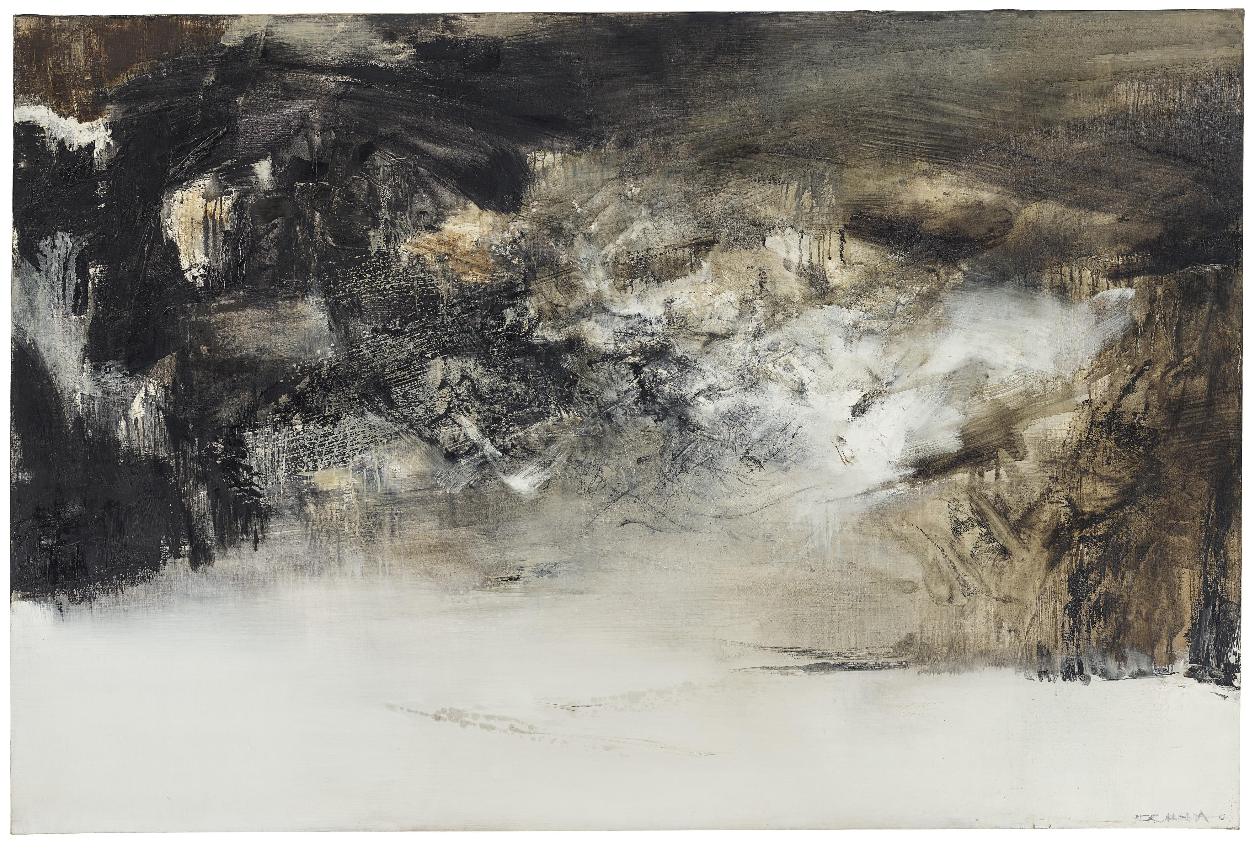 Zao Wou-Ki, 27.3.70 (1970) (courtesy of Christie's)