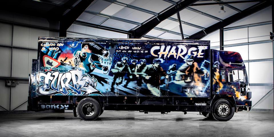 banksy-furgone-asta