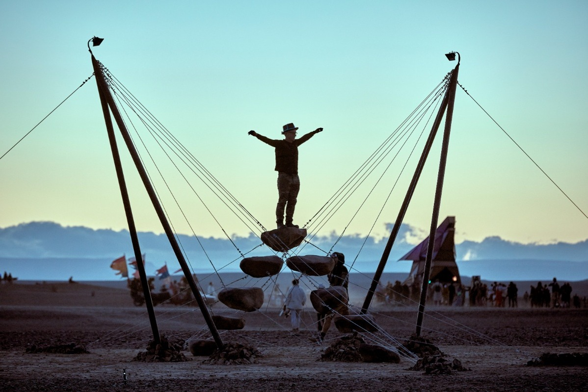 Le installazioni del Burning Man 2019