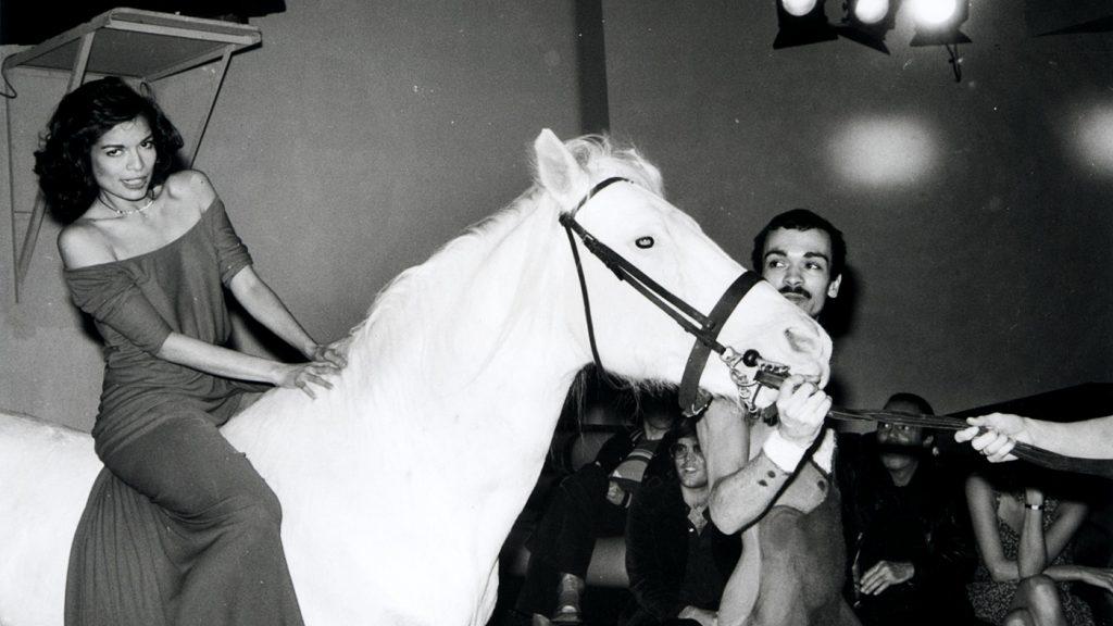 Bianca Jagger allo Studio 54