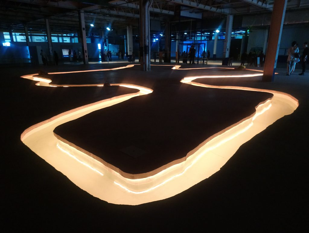 Opere in esposizione alla Biennale di Lione 2019