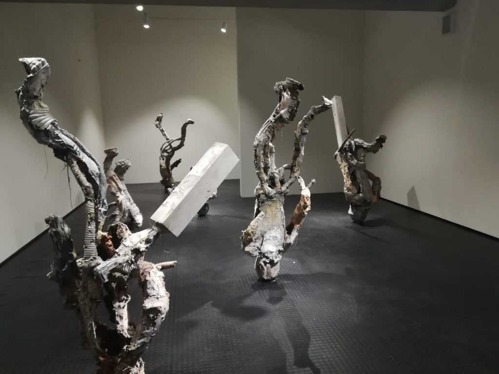 Opera in esposizione da MSFAU, la sede della Biennale di Istanbul