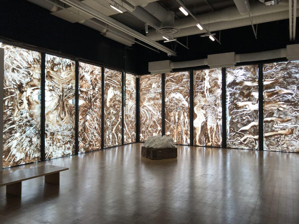 Opere in mostra per Préhistoire, al Centre Pompidou