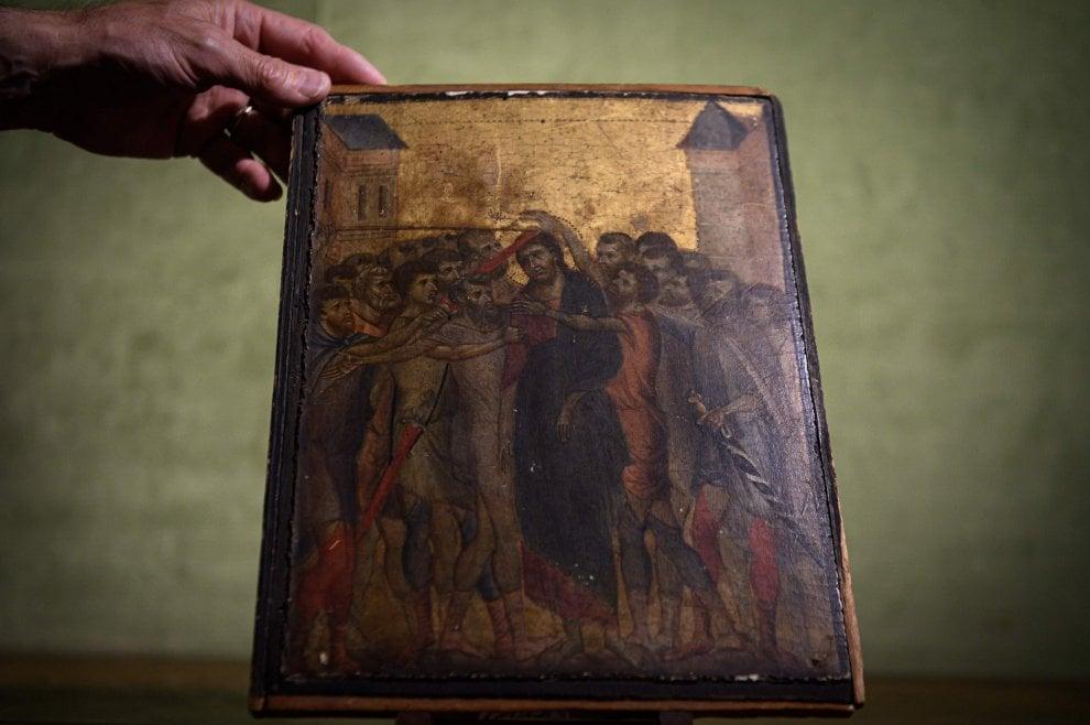 L'opera di Cimabue appena scoperta