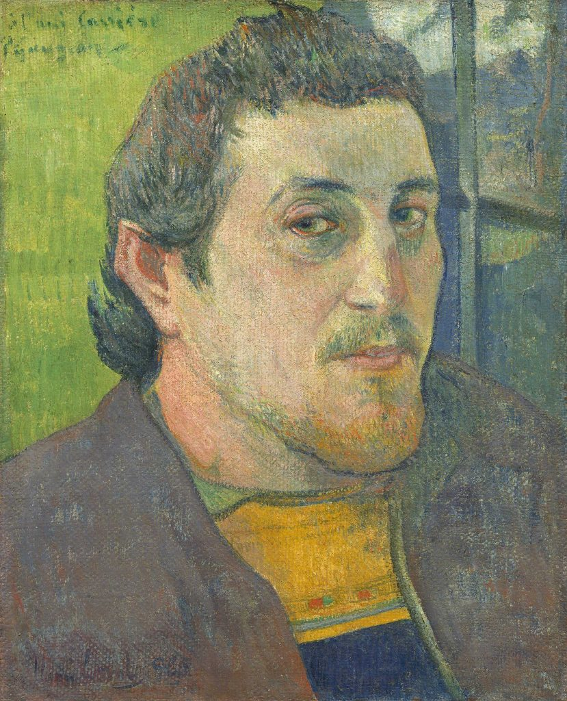 "Paul Gauguin, ""Self-Portrait Dedicated to Carrière"", 1888/1889. © The Board of Trustees, National Gallery of Art, Washington, DC"
