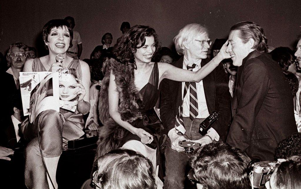 Andy Warhol e Liza Minnelli allo Studio 54