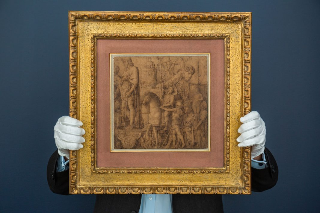 Andrea Mantegna. Il disegno ritrovato. Courtesy of Sotheby's