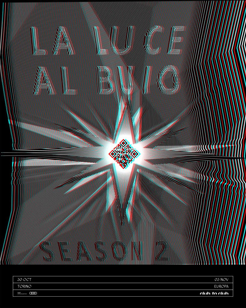 Billboard C2C19, La Luce Al Buio: Season 2. 2019, Weirdcore (courtesy of Club to Club)