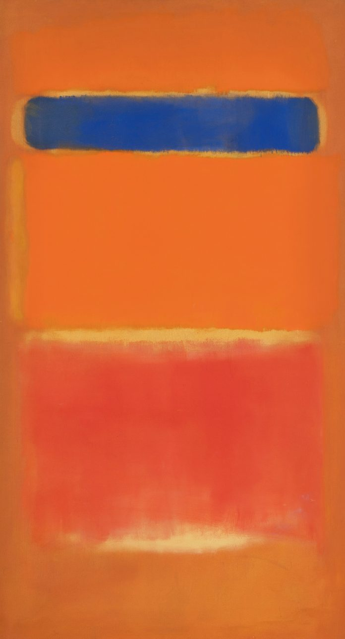 Mark Rothko, Blue Over Red