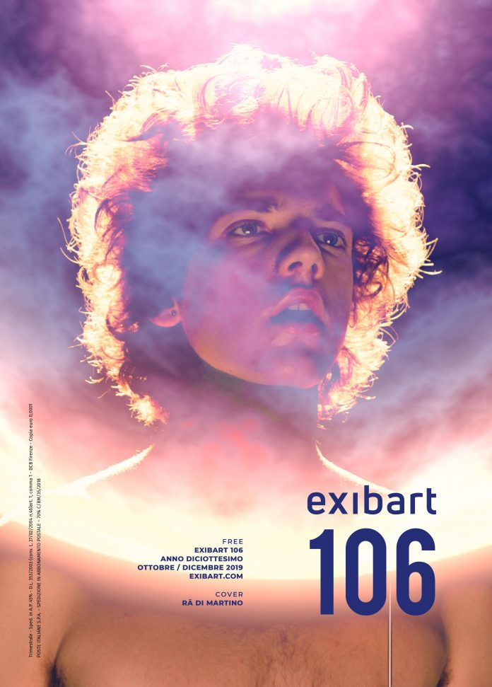 La copertina di exibart 106 on paper