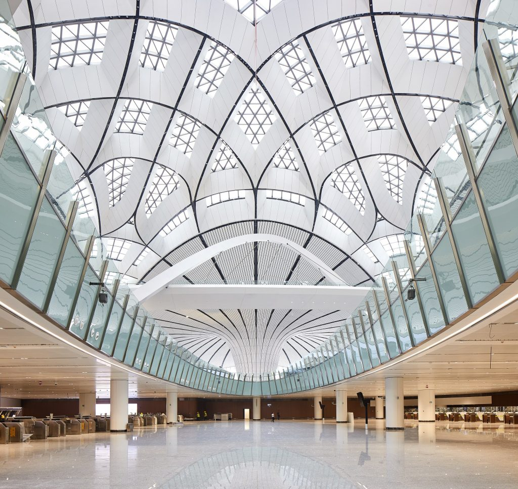 Beijing Daxing International Airport (courtesy of Hufton Crow)