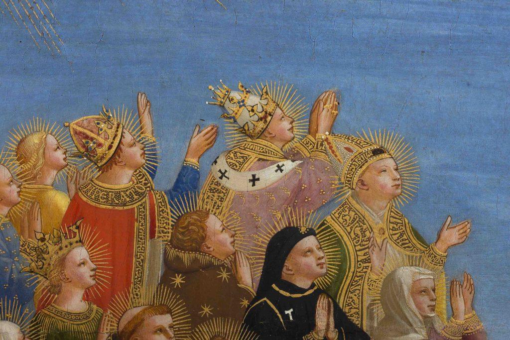Beato Angelico, Giudizio Universale, particolare dopo il restauro