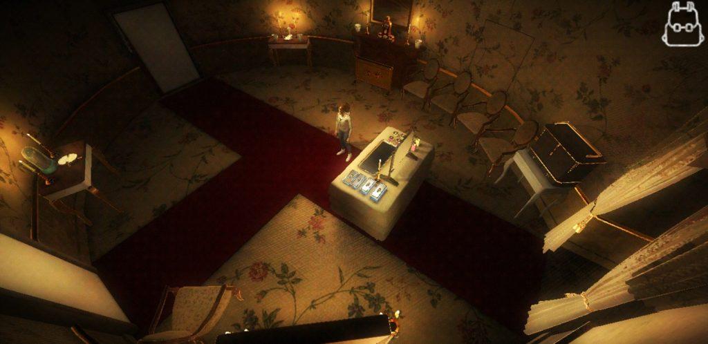 Uno scenario del videogioco The Medici Game: murder at Palazzo Pitti