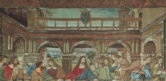 Il Cenacolo di Leonardo per il Re Francesco I. Un capolavoro in oro e seta