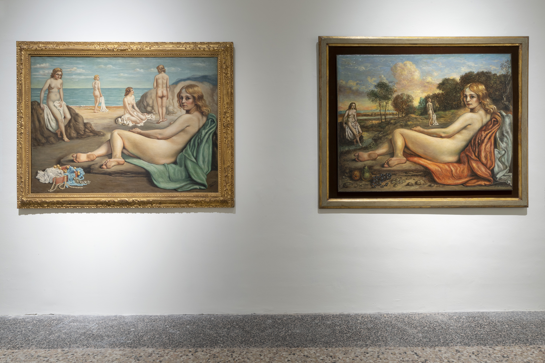 De Chirico, vista della mostra, foto Lorenzo Palmieri
