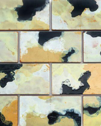 Fausto Melotti, Set of 20 tiles, ca. 1958. Courtesy Phillips