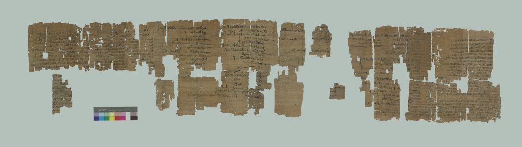 Papiri del Museo Egizio di Torino (courtesy of Museo Egizio)