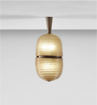 Gio Ponti, Ceiling light (model no. 5254), 1931-35. Courtesy Phillips
