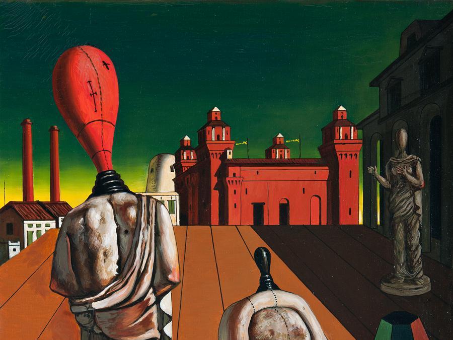 Giorgio de Chirico, Le muse inquietanti, 1925