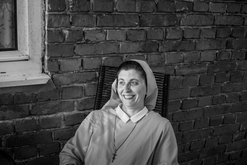 Ritratto di una delle suore del convento (Courtesy: Valeria Luongo)