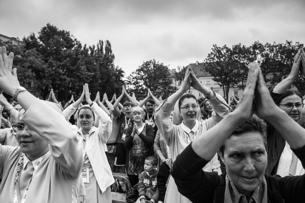 La messa durante la World Catholic Youth Week del 2016 (Courtesy: Valeria Luongo)