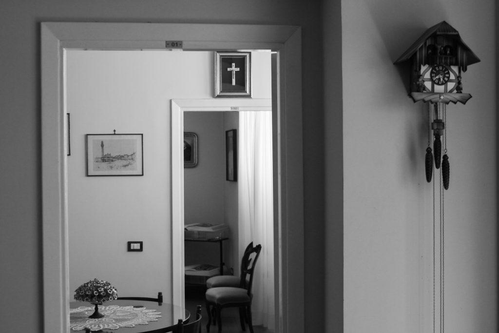Uno degli spazi del convento (Courtesy: Valeria Luongo)